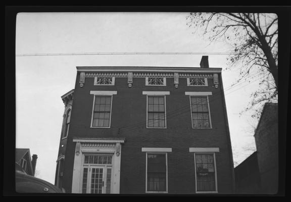 G. A. Bowyer House, 324 South Upper Street, Lexington, Kentucky in Fayette County
