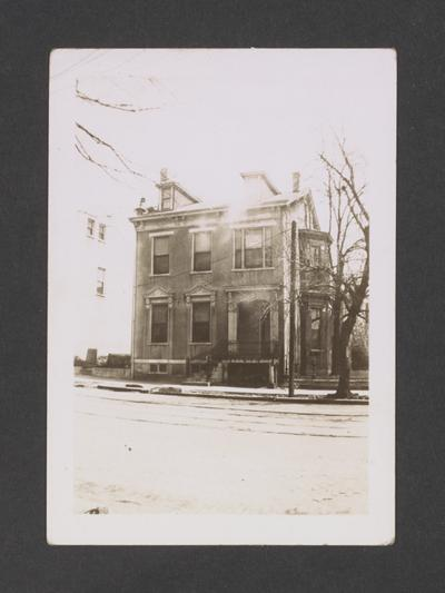 Dr. James Fishback House, 176 North Broadway Road, Lexington, Kentucky in Fayette County