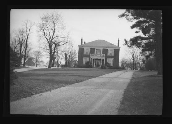 Samuel T. Hayes House, Charles Gentry House, built in 1854, Sulfur Wells Road, Fayette County, Kentucky