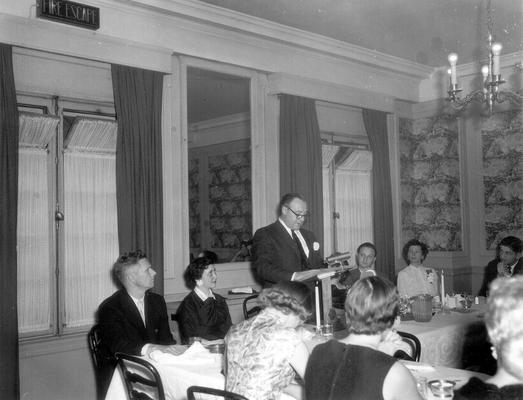 RA Banquet, Lafayette Hotel (Stu Hallock, Lil Press, Stu Hallock)