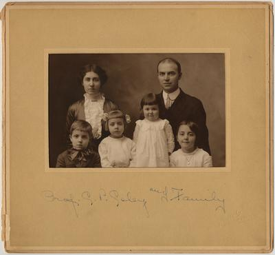 Prof. C. P. Coley and family