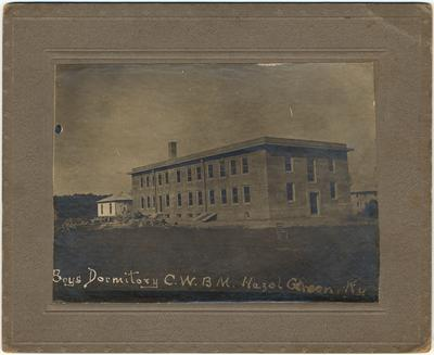 The Helen E. Moses Memorial Boys Dormitory