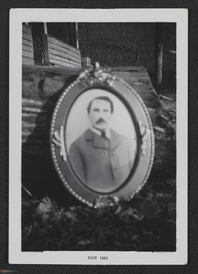 Dr. Robert L. Jackson photograph of framed portrait