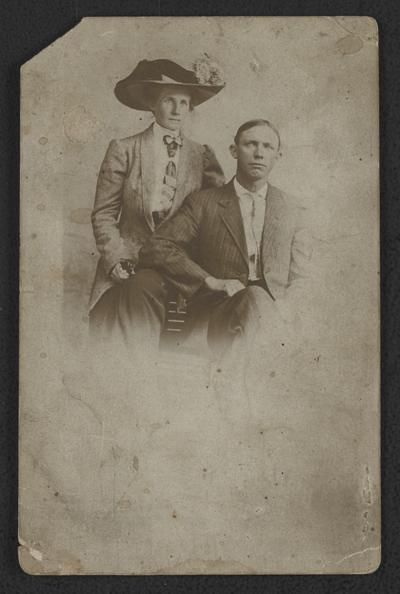 Lena Jackson Collinsworth (daughter of Dr. Robert L. Jackson) and her husband Mose Collinsworth