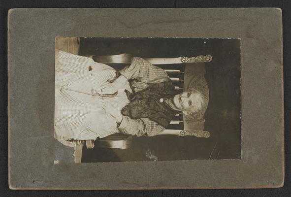 Eva Shockey Maynard (Cherokee) great grandmother of Bonnie Jeanne Jackson Slater