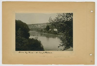 Down Kentucky River - at Camp Nelson