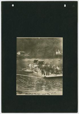 Shaker Ferry - over Kentucky River