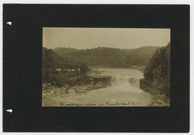 Birdseye view at Cumberland Falls