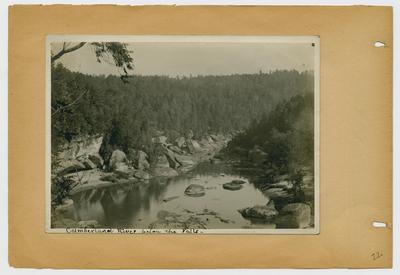 Cumberland River below the Falls