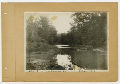 Dick's (Dix) River near Danville, Kentucky