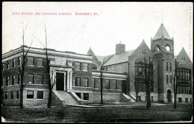 High School And Carnegie Library