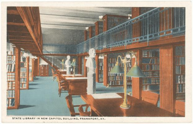 State Library in New Capitol Building