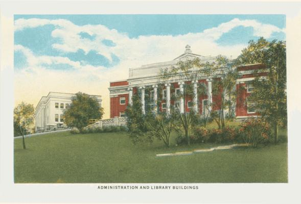 Administration and Library Buildings