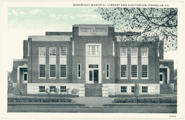 Goodnight Memorial Library and Auditorium