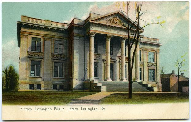 Lexington Public Library. 2 copies