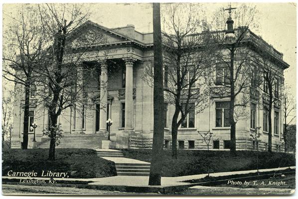 Carnegie Library. 2 copies