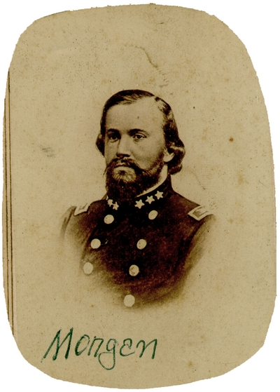 Brigadier General John Hunt Morgan (1825-1864) C.S.A.; (aka The Thunderbolt of the Confederacy, aka The Marion of the South); Lexington, Kentucky native; commander of the 2nd Kentucky Cavalry, lead raids into Indiana and Ohio