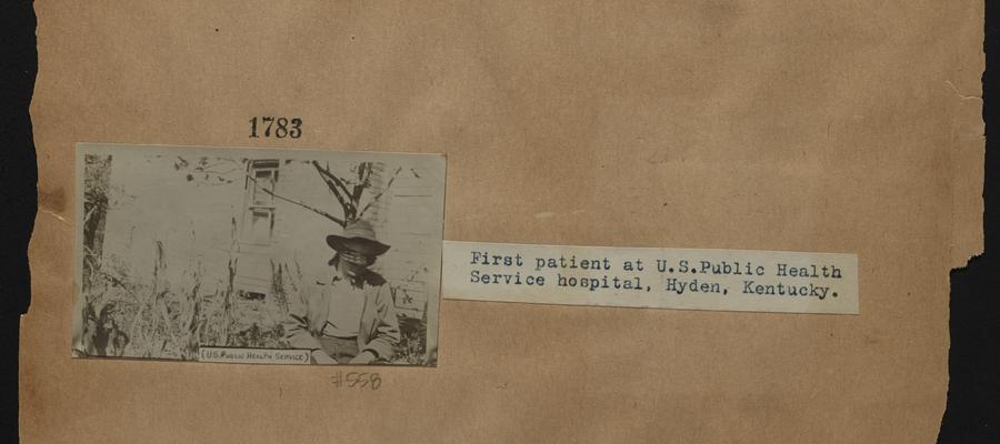 First patient at U.S. Public Health Service hospital; Hyden, Kentucky