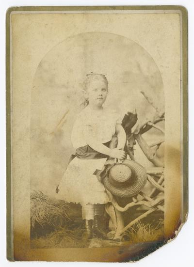 Linda Neville, May 28th, 78, five years old, April 23rd, 1878