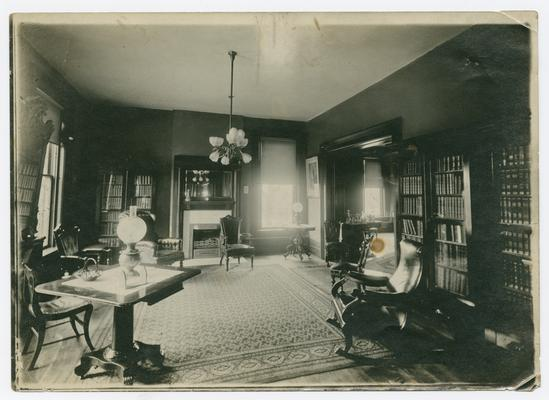 Lexington, Kentucky- Linda Neville's home: The parlor at 722 West Main St., Lexington, KY