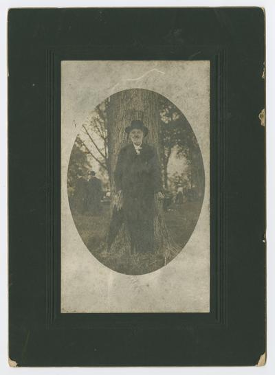 John Henry Neville at Woodland Park in Lexington, Kentucky