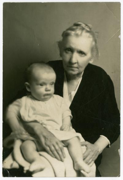 Linda Neville and David Neville Devary, Aug. 1936 in Lexington