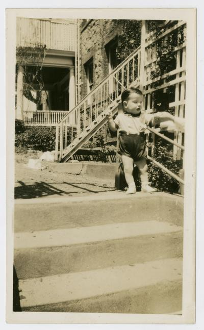 David Devary at the Arthur Sunshine Home in Summit, New Jersey