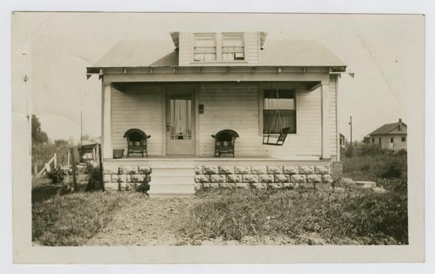Louisville, Kentucky- home of Jennie Virginia Owens Wilson, 821 Camden Street, Louisville, KY. Found in correspondance