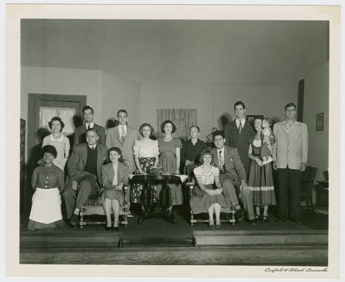 Pupils at the Kentucky School for the Blind