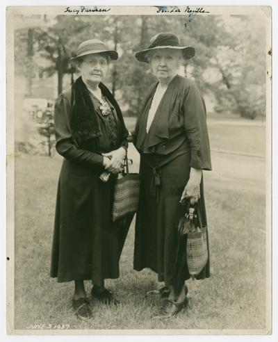 Linda Neville and Lucy Furman