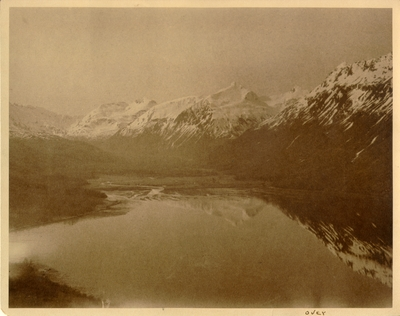 Wyak Bay on Kodiak Island, a 100 mile long island located in the Gulf of Alaska. A description of the photograph is on the back. 8x10