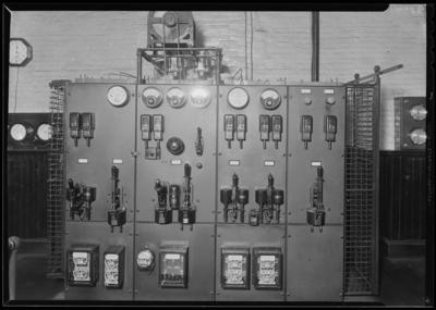 Lexington Water Company; plant (gauges)