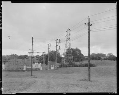 Lexington Water Company; power lines