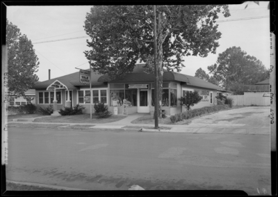 Perry Lumber Company, 246 Walton Avenue; exterior view from                             across the street
