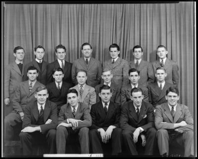 Fraternity, Transylvania (College) Crimson; group                             portrait