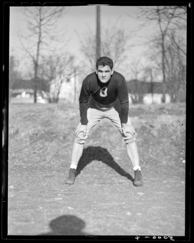 University of Kentucky Football individual #8 (1943                             Kentuckian)