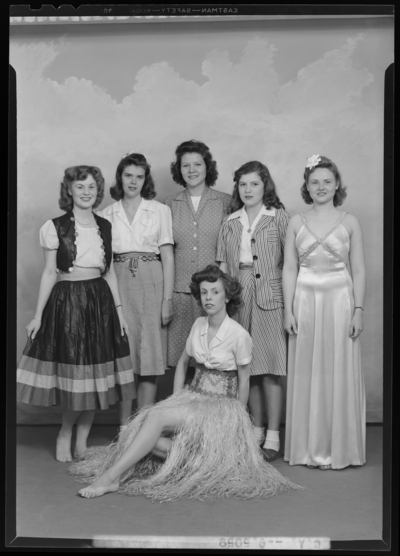 YWCA (Young Women's Christian Association); group for                             circus