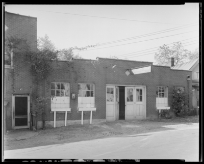 American News Company, 927 South Limestone; exterior of                             building