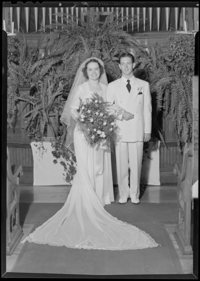 Carl Johnston; wedding group