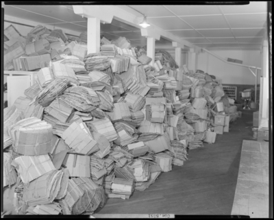 National Distillers Corporation; packing department