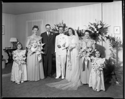 Lieutenant & Mrs. Bradshaw; wedding