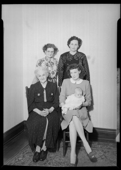 Mrs. Cox; 5 generations
