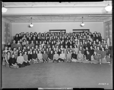 Sorority Houses; University of Kentucky; Patterson Hall;                             group