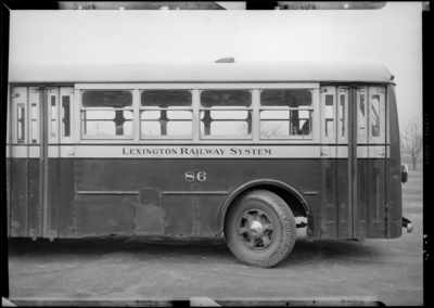 Lexington R.R. Bus; exterior