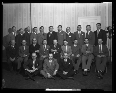 National Life & Accident Insurance Company; Phoenix                             Hotel; interior; Luncheon; group portrait
