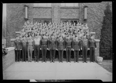 University of Kentucky Military Groups; Advanced Course,                             Infantry