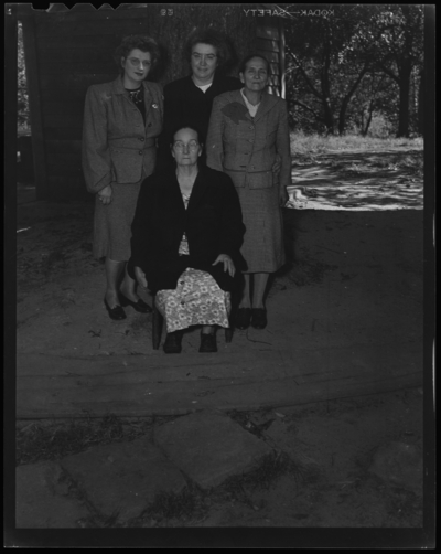 Caldwell Reunion; R.J. and Ida Long (Lafayette Studios);                             group