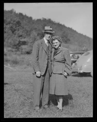 Caldwell Reunion; R.J. and Ida Long (Lafayette Studios);                             group