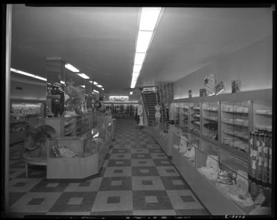 Jane Lee Store, 100 West Main; interior; sales floor