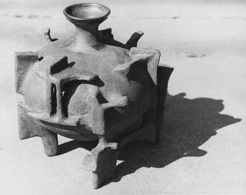 A ceramic pot by John Tuska
